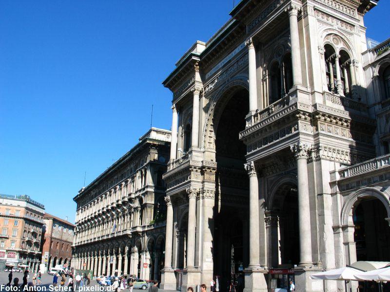 Zug Rundreise: Mailand, Florenz & Rom